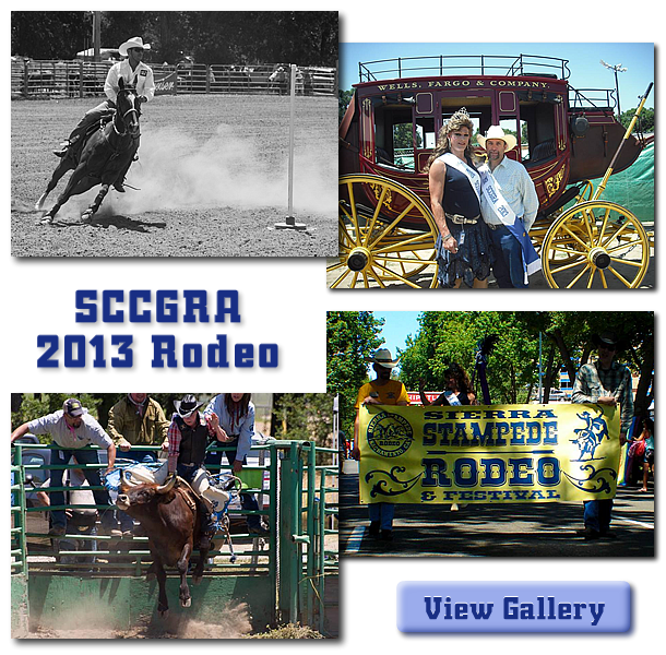 collage of images from the sccgra 2013 rodeo